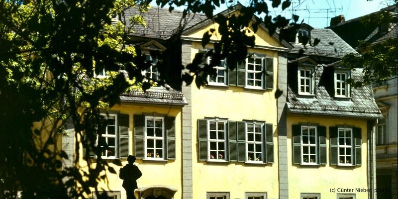 schillerhaus schillers wohnhaus weimar. Black Bedroom Furniture Sets. Home Design Ideas